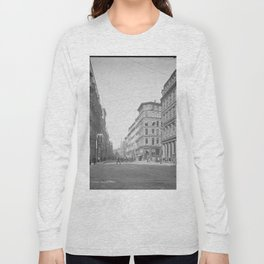 Summer Street, Boston, Massachusetts 1904 Long Sleeve T-shirt