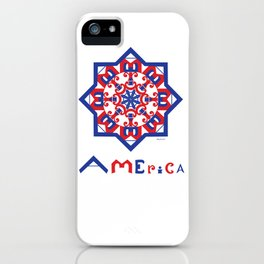American Star iPhone Case