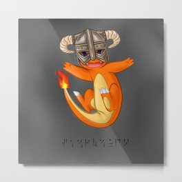 CHAR-MAN-DAAAAH!! Metal Print