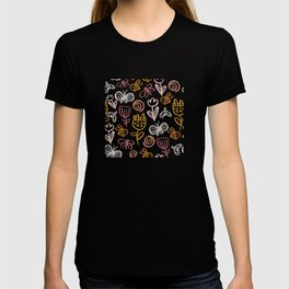Bee with Flowers T-shirt