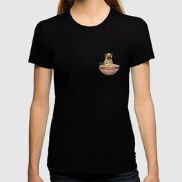 Ramen Pug T-shirt