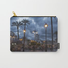 Sundown, Plaza Mayor Merida Spain Carry-All Pouch