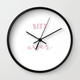 Best Singer Ever Gift Idea Wall Clock
