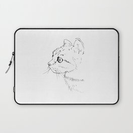 cat face Laptop Sleeve
