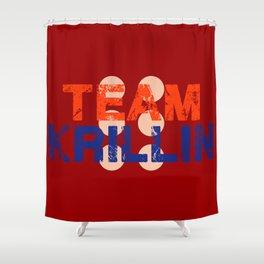 Team Krillin Shower Curtain