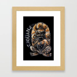 Caguana Framed Art Print