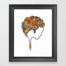 Musical Mind Framed Art Print