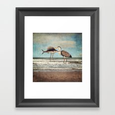 The Fish That Sold Its Soul for Love Framed Art Print