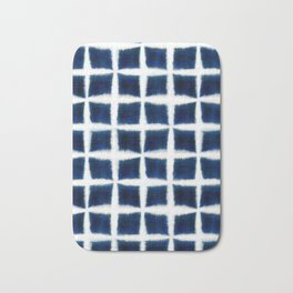 Shibori Blocks Bath Mat