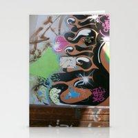 graffiti Stationery Cards featuring graffiti by gasponce