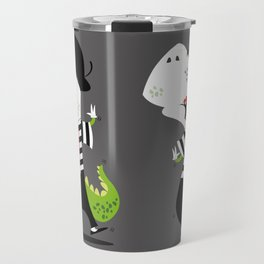 T-Rex Mime Travel Mug