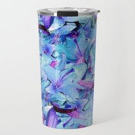 LILY BOUNTIFUL BLUE Travel Mug