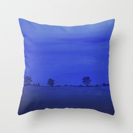Almost Night Throw Pillow