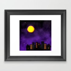Night Shift Framed Art Print