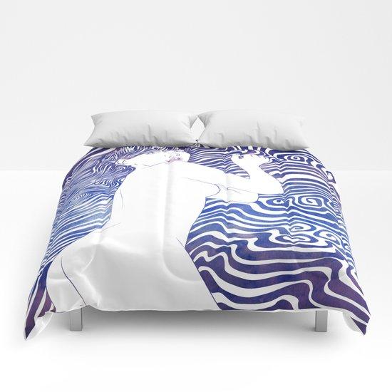 Water Nymph XXIV Comforters