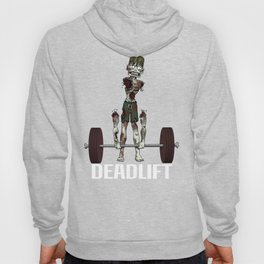 Crossfit Zombie by RonkyTonk doing Deadlift Hoody