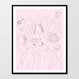 Half a Moment Canvas Print