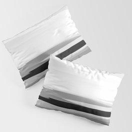 Soft Determination Black & White Pillow Sham