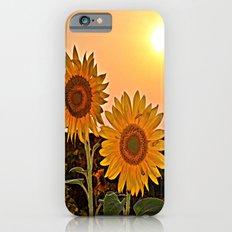 couple of sunflowers iPhone 6 Slim Case