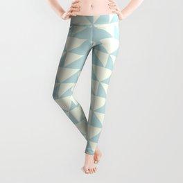 Shapes in Light Blue Leggings