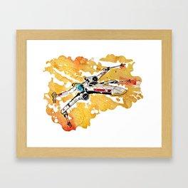 xwing Framed Art Print