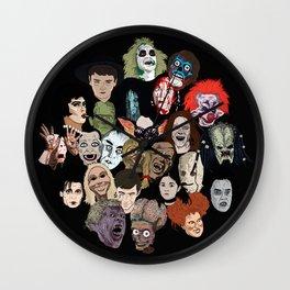 Halloween Gumbo Wall Clock