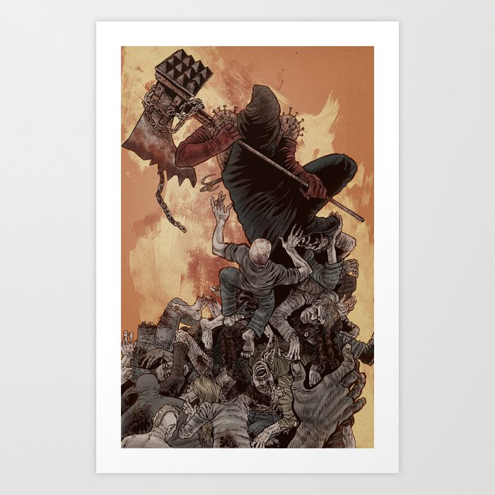 The Executioner Art Print