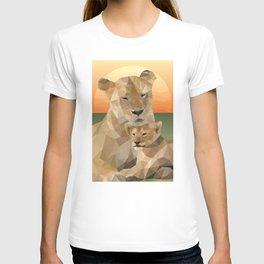 Sunset Lions T-shirt