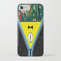 gravity falls iPhone & iPod Cases featuring Gravity Falls by itspronouncedDEE-ANN-UH