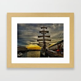Tall Ship BAE Guayas Framed Art Print