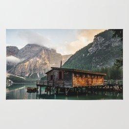 Lago di Braies Rug
