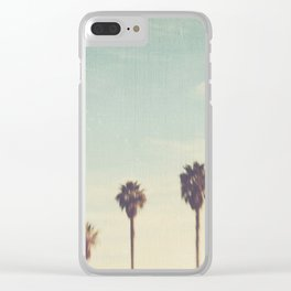 palm trees. Daydreamer No.2 Clear iPhone Case