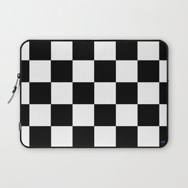 Checker - Black & White Laptop Sleeve