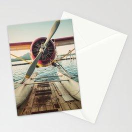 Seaplane Dock Stationery Cards