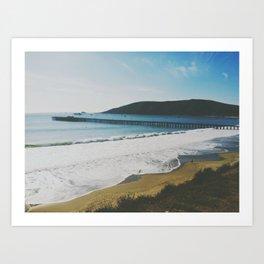 Avila Beach, CA Art Print