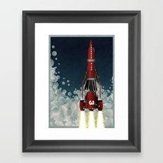 Thunderbird 3 Framed Art Print