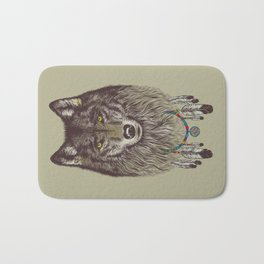 Wind Catcher Wolf Bath Mat