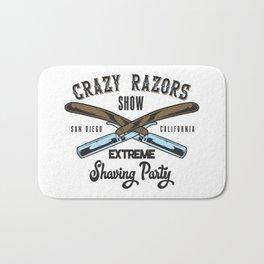 CRAZY RAZORS SHOW EXTREME Bath Mat