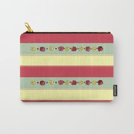 A Rosy Outlook Carry-All Pouch