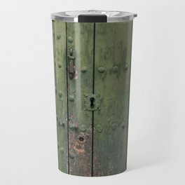 Green Door Travel Mug