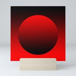 Grocery bag red Mini Art Print