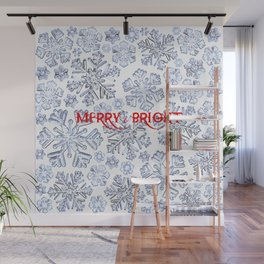 MERRY & BRIGHT Wall Mural