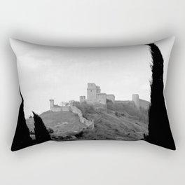 Assisi in the winter Rectangular Pillow