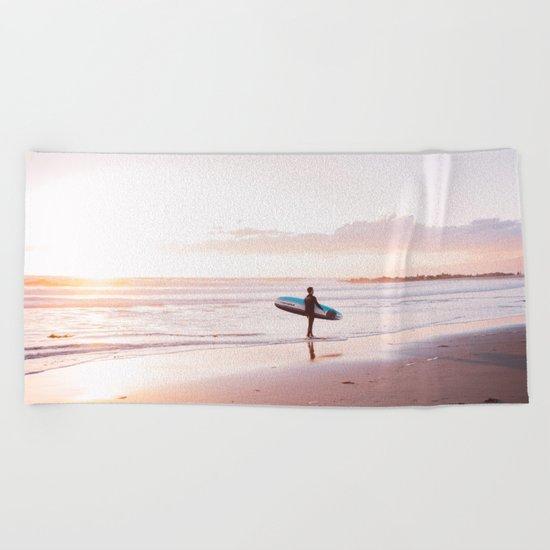 Venice Beach Surfer Beach Towel