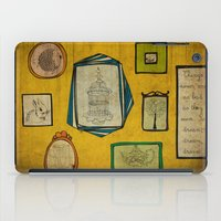frames iPad Cases featuring Frames by Duru Eksioglu