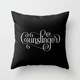 Gunslinger Throw Pillow