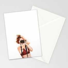 Self portrait 2 Stationery Cards
