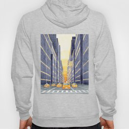 NYC, yellow cabs Hoody