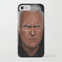 clint barton iPhone & iPod Cases featuring Clint by Palm