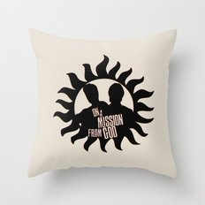 Winchester Brothers Throw Pillow